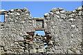NJ9366 : Arms above the entrance to Pitsligo Castle by Bill Harrison