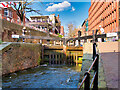 SJ8497 : Rochdale Canal at Canal Street, Lock#87 by David Dixon