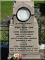 SO7845 : Inscription on Jenny Lind's grave by Philip Halling