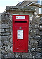 SD6279 : Elizabeth II postbox on the A683, Casterton by JThomas