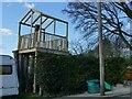 SE2439 : Tree house, Carr Bridge Drive by Stephen Craven