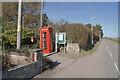 NH6758 : Communications centre, Killen by Richard Dorrell
