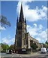 NZ2666 : Holy Trinity Church in Jesmond by Russel Wills