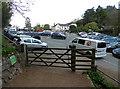 SO7640 : British Camp Car Park, Malvern Hill by Chris Allen