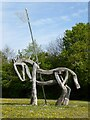 SO8930 : Sculpted horse by Philip Halling