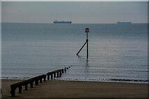 SZ5983 : Sandown : Coastal Scenery by Lewis Clarke