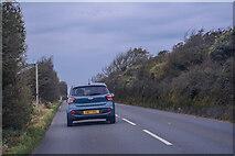 SZ5487 : Arreton : Downs Road by Lewis Clarke