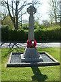 ST9678 : Christian Malford war memorial by Neil Owen