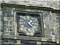 SE0423 : St Peter's church, Sowerby - clock dial by Stephen Craven
