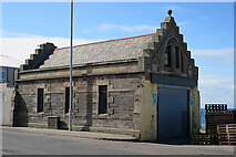 NJ4265 : Former Lifeboat Station by Anne Burgess