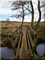 SK2579 : Footbridge over Burbage Brook by Graham Hogg