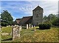 TQ5601 : St Andrew's Church, Jevington by PAUL FARMER