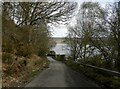 NH5734 : Unclassified road above Loch Ness by Douglas Nelson
