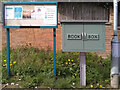 NS5571 : Notice board and book box by Richard Sutcliffe