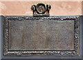 SJ8498 : J and N Philips War Memorial (detail - World War I) by David Dixon