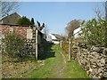 SD2784 : The Cumbria Way near Gawthwaite Farm by Adrian Taylor