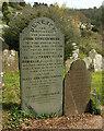 SX8457 : Headstones, Stoke Gabriel by Derek Harper