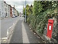 H4472 : Post box in wall, Omagh by Kenneth  Allen