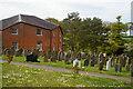 TM2677 : Fressingfield: Baptist chapel and graveyard by Christopher Hilton