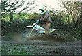 SX7665 : Motorbike on BOAT by Derek Harper