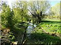TM2659 : Downstream from Kettleburgh Bridge by Adrian S Pye