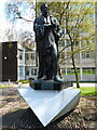 SP0684 : Sir Robert Peel statue by Mat Fascione