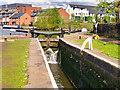 SJ9097 : Ashton Canal, Top Lock at Fairfileld by David Dixon