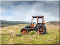 NR8995 : Abandoned tractor at Barrachuile by Patrick Mackie