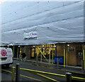ST3188 : Davies Florist shop & van, Upper Dock Street, Newport by Jaggery