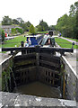 SD9153 : Bank Newton Locks, Leeds and Liverpool Canal by habiloid