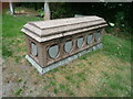SO7568 : Tomb at St. Mary's church (Abberley) by Fabian Musto