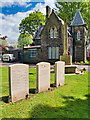 SD8009 : War Memorial at Bury Cemetery by David Dixon