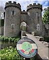 SJ3231 : Gatehouse at Whittington Castle by Mat Fascione