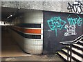 SP3378 : Detail of subway under Coventry Ring Road at Greyfriars Green by Alan Paxton