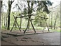 NZ0831 : Giant multi-child swing by Oliver Dixon