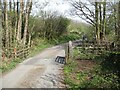 SD2786 : Cattle Grid on Long Lane by Adrian Taylor