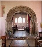 SO4522 : Garway - St Michael's Church - Chancel Arch by Rob Farrow