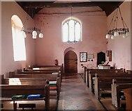 SO4522 : Garway - St Michael's Church - post-Templar nave by Rob Farrow