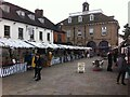 SP2864 : Market Place, Warwick, looking towards the Market Hall by Alan Paxton