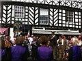 SP2864 : Morris dancing in Swan Street, Warwick by Alan Paxton