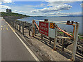 NS1966 : Flood gate on the A78 in Skelmorlie by Thomas Nugent