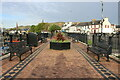 NX1898 : Outdoor Seating Area, Girvan by Billy McCrorie