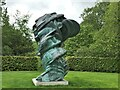 TF7828 : Tony Cragg at Houghton Hall - A close view of Tommy (2013) by Richard Humphrey