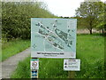TG2635 : Information Board for Nature Reserve by David Pashley
