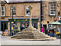 NU1813 : Alnwick Market Cross by David Dixon