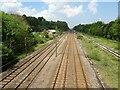 NZ3031 : Ferryhill railway station (site), County Durham by Nigel Thompson