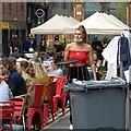 SJ8498 : Al Fresco dining on Edge Street by Gerald England