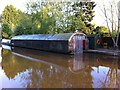 SP2965 : Boathouse on Grand Union Canal near Nelson Lane, Warwick by Alan Paxton
