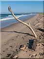 NU1438 : Ross Back Sands by Ian Capper