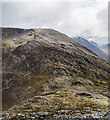NN1259 : Col between Pap of Glencoe and Sgorr nam Fiannaidh by Trevor Littlewood